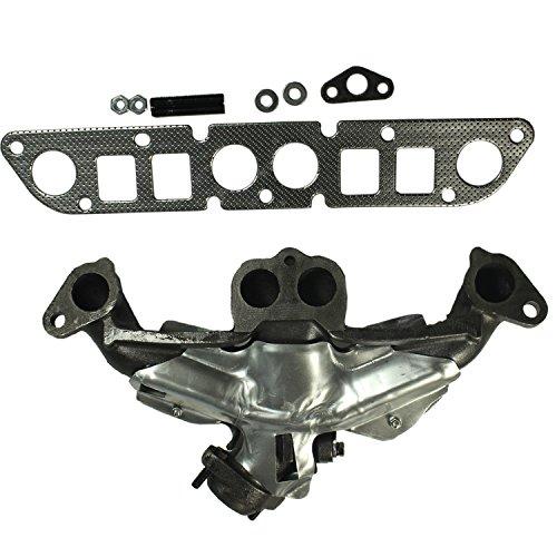 JDMSPEED New Cast Iron Exhaust Manifold W/Gasket Kit 674-225 Replacement For Cherokee Dakota Truck Wrangler 2.5L