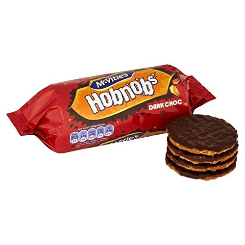 Mcvitie's Dark Chocolate Hobnobs 262g, 6 Pack