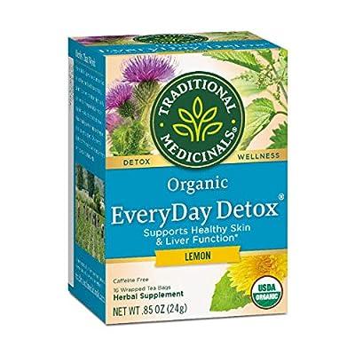 Traditional Medicinals Tea Everyday Detox Lem by Traditional Medicinals
