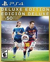 FIFA 16 Deluxe Edition PlayStation 4 FIFA16 デラックスエディションプレイステーション4 北米版 [並行輸入品]