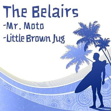 Mr. Moto b/w Little Brown Jug