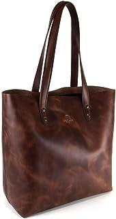 Bolsa para Dama Woge 100% Piel con bolso interior extraíble (Shedron)