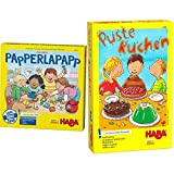 Haba Papperlapapp, Lernspielsammlung mit 6 Spielen für Kinder ab 3 Jahren, Lernspiele zur...