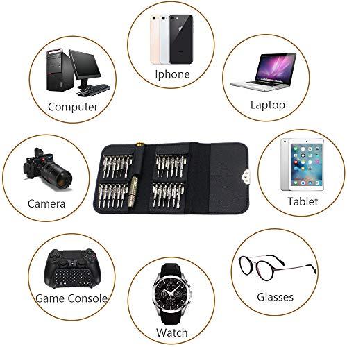 25 in 1 Mini Precision Screwdriver Set with Torx and Pentalobe Bits,AKTOO Portable Repair Tool Kit for PC,Laptop,Mobile Phone,Watches,Digital Camera,Eyeglasses