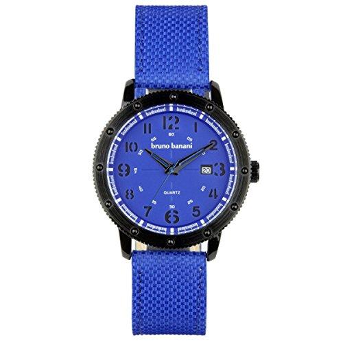 Bruno Banani Uhr Armbanduhr Geros Leder Analog BR30002