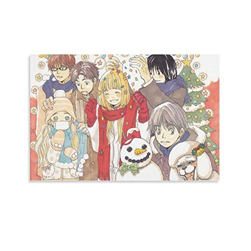 ETAU Honey and Clover Japanese Anime Character Canvas Art Poster and Wall Art Picture Print Modern Family Bedroom Decor Posters 08x12inch(20x30cm)