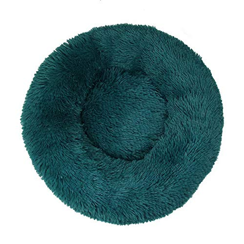 Huisdiermand van hoogwaardige pluche stof in 5 8 maten - wasbaar en krasbestendig huis voor honden en katten (stijl 9, 80cm)