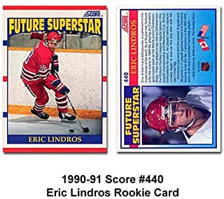 SCORE New York Rangers Eric Lindros 90-91 Rookie Card