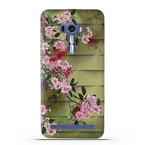 Fubaoda ASUS ZenFone Selfie ZD551KL Hülle, 3D Erleichterung Luxus Muster TPU Case Schutzhülle Silikon Case für ASUS ZenFone Selfie ZD551KL