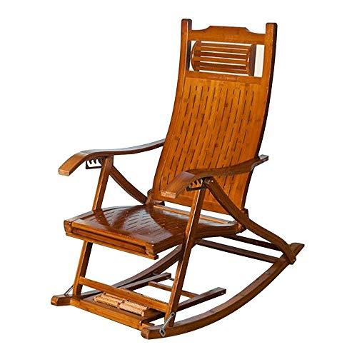 DANDAN-Deckchairs Antiker Klubsessel Old Man Nap Chair Klappbare Rückenlehne Balkon Klubsessel Outdoor Garden Beach Chair