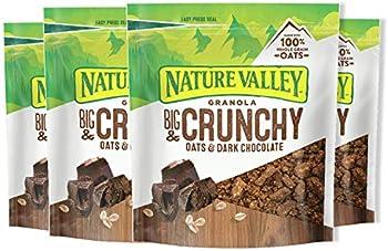 4-Count Nature Valley 16 oz Granola Crunch (Oats & Dark Chocolate)