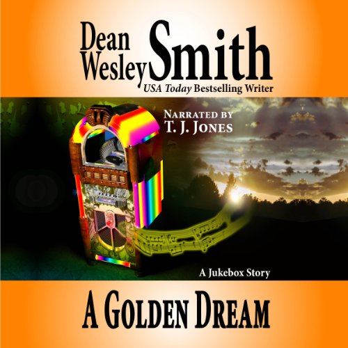 A Golden Dream audiobook cover art