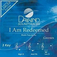 I Am Redeemed Accompaniment/Performance Track