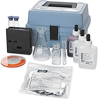 Hach 202300 Hardness and Iron Color Disc Test Kit, Model HA-77