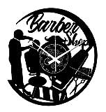 Instant Karma Clocks Orologio da Parete Capelli Taglio Parrucchiere Barbiere Barber Shop, Vinile, Vintage, Idea Regalo
