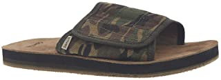 Sanuk Men's Bixby Camo Hemp Slide Sandal