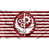 Dimension - 3x5ft (35x59in / 90x150cm). Package includes 1pcs great flag. Material: High quality 100% durable polyester. Vivid Color : The color of flag was bright and vibrant, and the dye has been processed with UV fade resistant. Function: good dec...