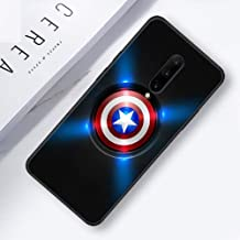 Marvel Superheroes The Avengers Silicone Phone Case for Oneplus 7 7 Pro 6 6T Soft Cover Shell for Oneplus 7 7Pro Black Case (11, Oneplus 6T)