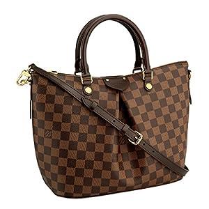 Fashion Shopping Louis Vuitton Damier Canvas Siena PM Crossbody Shoulder Handbag N41545 Made in France