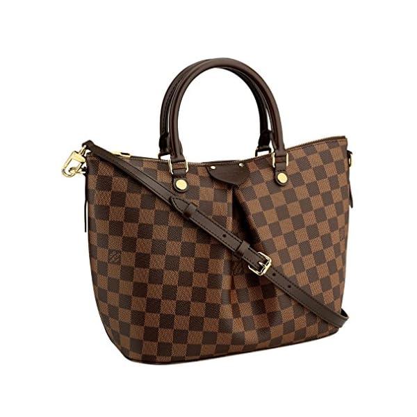 Fashion Shopping Louis Vuitton Damier Canvas Siena PM Crossbody Shoulder Handbag