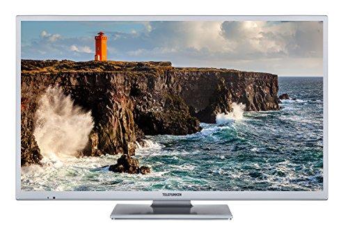 Telefunken XH32D101-S 81 cm (32 Zoll) Fernseher (HD ready, Triple-Tuner)Silber