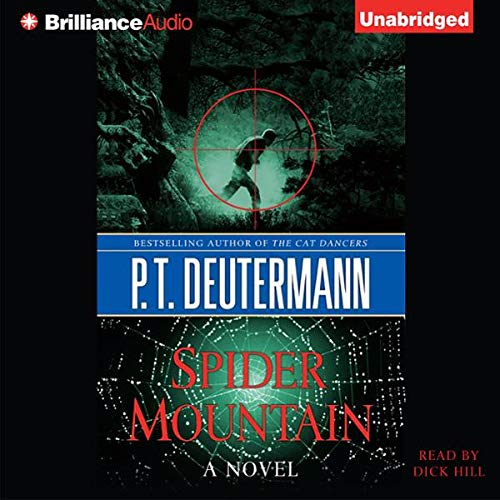 Spider Mountain audiobook cover art