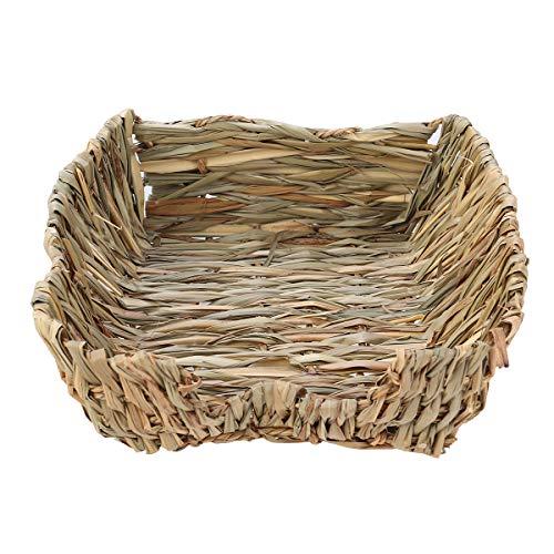 Balacoo Pet Nest Straw Nest Weben Grass Hamster Bett für Kaninchen Chinchillas Guinea Andere Kleintiere