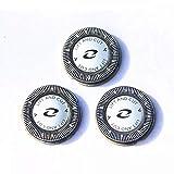 Philips HQ56/60 - Cabezales de afeitado para máquinas Philips SensoTouch, color gris