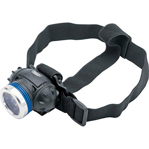 Advanced Draper Xs07191 CREE LED Lampe frontale Taille 3 X Piles AAA [Lot de 1] – -