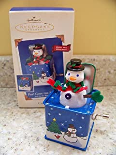 Hallmark Pop! Goes the Snowman Jack in the Box #1 in series 2003 ornament