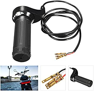 OUYAWEI 3 Wire Twist Throttle Grip 24V 36V 48V for Electric Scooter Pocket Bike Chopper Auto Accessories