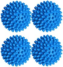 Black Duck Brand Dryer Balls 4 Packs of Blue- Reusable Dryer Balls Replace Laundry Drying Fabric Softener and Saves You Money