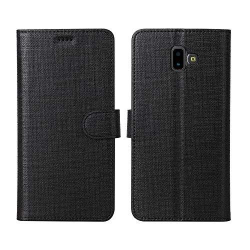 Foluu Samsung Galaxy J6 Plus, Brieftaschenformat, Kartenholster, Segeltuch, weiches...