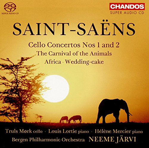 Saint-Saens: Cellokonzerte 1 & 2 / Der Karneval der Tiere / Afrika /+