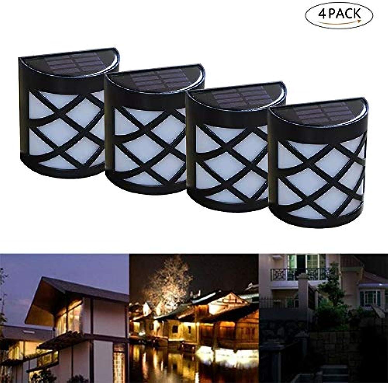 Xindaxin Solarleuchten Garten, LED Solarleuchten 1200 mAh Solarlampen für Garten, Terrasse, Weg, Kaltwei, 4 Stück