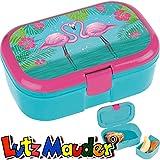 TapirElla Lunchbox Pink Flamingo