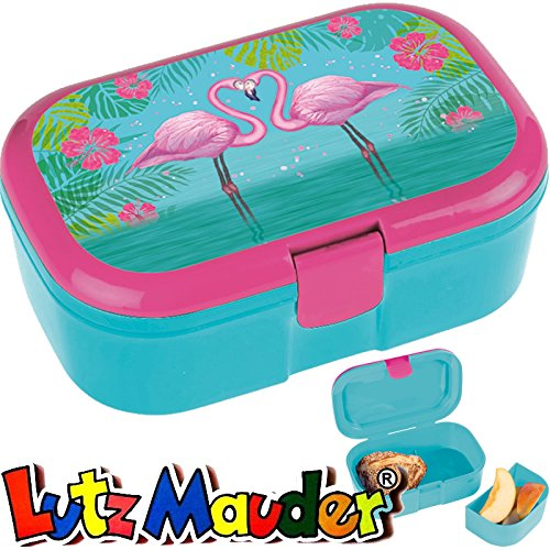 TapirElla Lunchbox Pink Flamingo