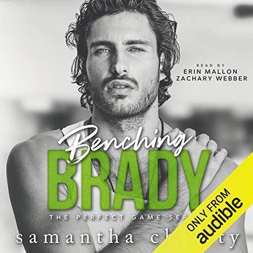 Benching Brady Audiobook By Samantha Christy cover art