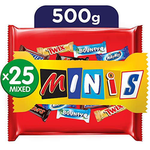 Mars Minis Assorted Chocolates, 500 g