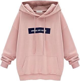 Misaky Women's Girls' Hoodie, Fall Jumper Pullover Tops Blouse Sweatshirt