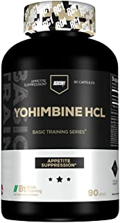 Redcon1 - Yohimbine (90 Servings) - 2.5mg, Promotes Appetite Control, Boost Metabolism, Fat Loss Support - Basic Training Series