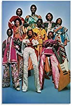 Earth Wind & FIRE Celebrity Posters Singer Poster Canvas Prints for Room Aesthetic Wall Art Bedroom Posters Paint Walls Dining Room Decor 08×12inch(20×30cm)