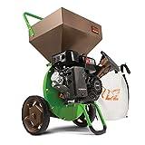 Tazz 18493 K32 Heavy Duty 212cc Gas Powered 4 Cycle Viper Engine 3:1 Capable Multi-Function Wood Chipper Shredder 3' Max Wood Diameter Capacity, 5 Year Warranty