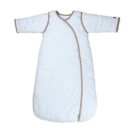 Saco de Dormir Todo el año 3 TOG Mangas Extraíbles - Niñito Sacos para Dormir 12-36 Meses,Azul