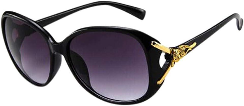 HEVÜY Polarisierte Sonnenbrille Mode Design für Damen UV-Strahlen,Retro Polarisierte Damen Sonnenbrille/Blaulichtfilter Brille Outdoor UV 400 für Fahren Angeln Reisen