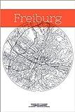 Poster 40 x 60 cm: Freiburg Karte Kreis von Campus Graphics