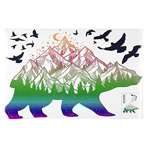 MEIHSI Etiqueta de la Pared-DIY de Dibujos Animados extraíble PVC Vivd Etiqueta de la Pared Arte hogar niños habitación Mural decoración de Fondo