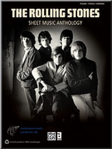 The Rolling Stones - Sheet Music Anthology - Noten Songbook [Musiknoten]
