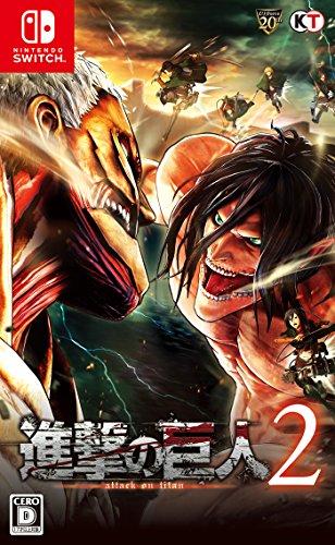 Shingeki no Kyojin 2 Attack on Titan NINTENDO SWITCH JAPANESE IMPORT REGION FREE