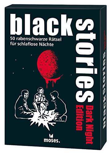 black stories Dark Night Edition: 50 rabenschwarze Rätsel für schlaflose Nächte